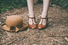 shoes, vintage, and hat image
