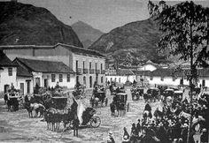 1887, San Victorino - Bogotá, Colombia, en esta época, panama era parte de Colombia.