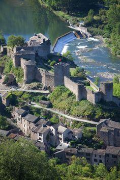 Brousse Le Chateau, Aveyron, Midi-Pyrenees, France.