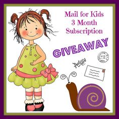 Mail Subscription Giveaway ! Enter on instagram @fairy_mail