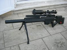Heckler & Koch SL9 with suppressor