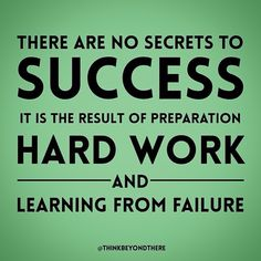 There are no secrets to success. It's the results of preparation, hard work, and learning from failure. It's so important to evaluate your past relationships, and I always strongly advocate going to a therapist in order to do so. #Repost from @achievetheimpossible #truth #learn #quote #quotes #quotations #strength #success #successful #HardWork #learnfromyourmistakes #positive