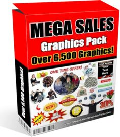 6,500+ Sales Page Graphics Pack