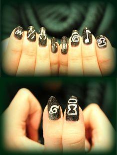 Naruto nail art by Sopuli97.deviantart.com