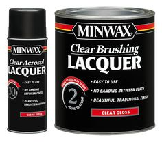 Minwax® Clear Brushing Lacquer