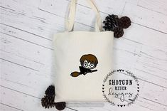 Excited to share this item from my shop: Trick-or-Treat Bags Halloween Candy Bags, Cool Halloween Costumes, Harry Potter Canvas, Ron And Hermione, Trick Or Treat Bags, Canvas Bags, Paper Goods, Hogwarts, Totes