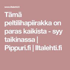 Tämä peltilihapiirakka on paras kaikista - syy taikinassa | Pippuri.fi | Iltalehti.fi