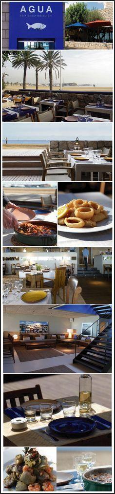 agua restaurant bar a tapas barcelone www.chiara-stella-home.com
