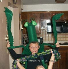 Cool Praying Mantis Costume... Coolest Halloween Costume Contest