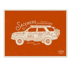 4Runner Poster - Sackwear