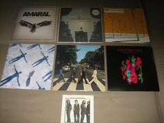 My humble collection of LPs (plus one precious single!)