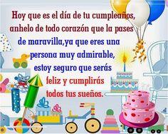 Tarjetas gratis de cumpleaños para hermano en facebook que esta lejos Happy Birthday Emoji, Happy Birthday Wishes Cards, Birthday Blessings, Happy Birthday Pictures, Birthday Greetings, Jelsa, Birthdays, Baby Shower, Lily