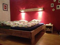 Traumhaftes Bauholz Schlafzimmer Komplettangebot von Linnards via dawanda.com