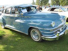 1947 Blue Chrysler
