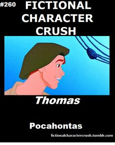 Fictional Character Crush: Thomas (from Pocahontas)