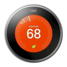 Nest - Learning Thermostat - Stainless Steel : Target