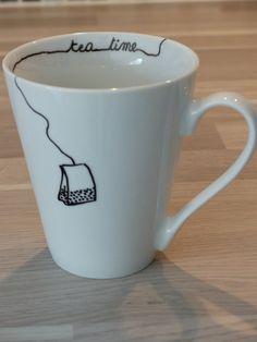 """Création du 27 janvier : une tasse à thé """"tea time"""" !"""