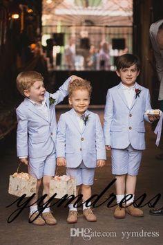 Wedding Outfit For Boys, Wedding Page Boys, Wedding With Kids, Tuxedo Wedding, Wedding Suits, Party Wedding, Kids Formal Wear, Wedding Ceremony Flowers, Wedding Scene