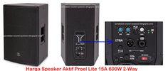 Harga Speaker Aktif Proel Lite 15A 600W 2-Way
