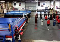 Boxing Gym Design, Martial Arts Gym, Fight Gym, Gym Plans, Personal Gym, Gym Facilities, Mma Gym, Gym Interior, Home Gym Design