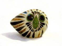 Jorge Wilmot Modernist Owl Figurine