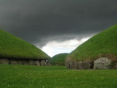 Knowth, Ireland, consists of one large mound containing two passage tombs surrounded by eighteen smaller mounds. One of the most visually impressive of the 300 or so passage-mounds in Ireland, it is an important part of the megalithic observatory that composes the Boyne Valley.