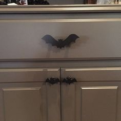 Bat Cabinet Knob gothic home decor kitchen cabinet drawer Etsy
