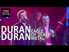 """Duran Duran doará renda obtida com a cover de """"Save A Prayer"""" feita pelos Eagles Of Death Metal #Cover, #Paris, #Programa, #Televisão http://popzone.tv/2015/11/duran-duran-doara-renda-obtida-com-a-cover-de-save-a-prayer-feita-pelos-eagles-of-death-metal/"""
