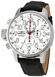 Invicta Invicta Lefty Force Chronograph White Dial Stainless Steel Men – Goldia.com