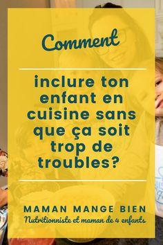Laissez-vous vos enfants cuisiner avec vous? Sinon, je vous explique pourquoi vous devriez le faire dans cet article et je vous propose également quelques tâches précises à déléguer à vos enfants lors de la préparation des repas.