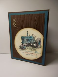 Sweet Stampin' Spot: Harvest Blessings - LOVE the colours and the touch of linen thread!