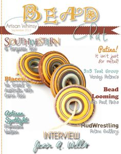 October 2013 Bead Chat Magazine by Artisan Whimsy - Pinned from @Glossi, a free digital magazine creation platform