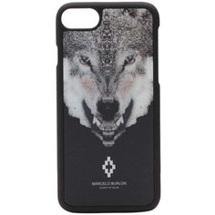 Marcelo Burlon Wolf Iphone 7 Case ($44) ❤ liked on Polyvore featuring accessories, tech accessories and marcelo burlon