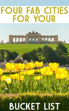 Four fabulous cities to add to your bucket list. The beauty of travel and being able to experience new cultures and sights first hand can never be underestimated. A classic city break is the perfect opportunity to holiday your way. Wherever your wanderlust takes you, a self-catering apartment is a great option, for the flexibility to explore at your leisure. Tick a few more destinations off your bucket list and add one of these four cool cities such as the grandeur of Vienna to your plan.