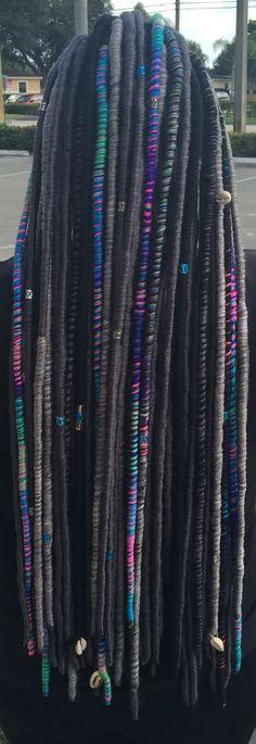 My Yarn Locs =) StyleSeat.com/brittanyL