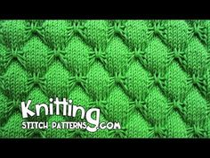 Knitting Stitch Patterns: Butterfly