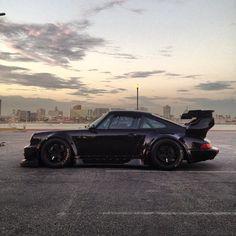 Custom Porsche. Love everything except the spoiler