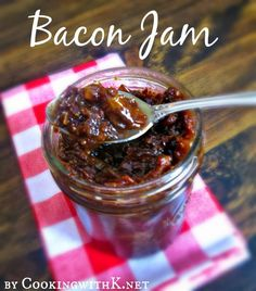 Bacon Jam {An Irresistible Spread}... something to surprise the fiancé with :)