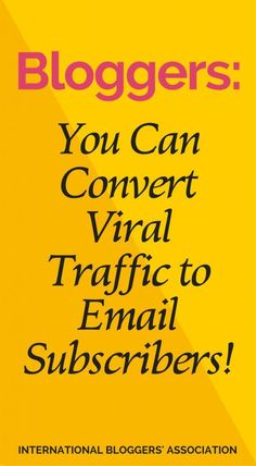 Vue js 2 the complete guide incl vue router vue js is an bloggers have you converted viral traffic to email subscribers how to convert viral traffic fandeluxe Gallery