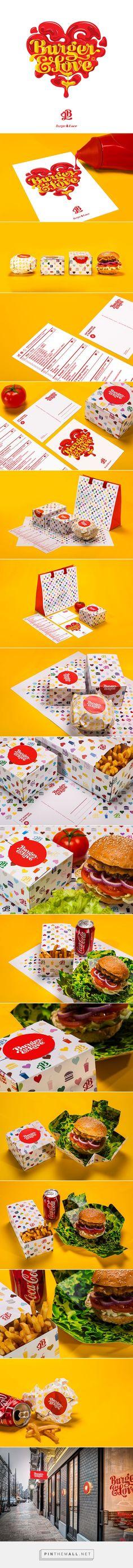 Burger&Love Branding on Behance
