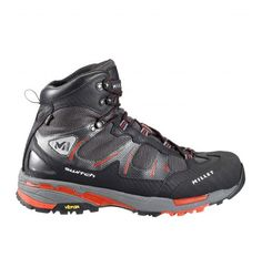 Switch Gore-Tex  Millet men shoes for fast hiking.  New-generation Fast-hiking boot for sport walking in the mountains and rapid elevation change on Alpine terrain. Technical construction provides dynamic foot-roll, shock absorption, comfort, lightness and protection.