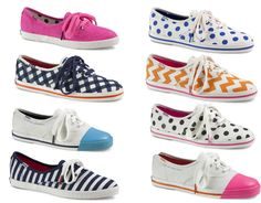 Keds Collaborates On Sneaker Collection To Celebrate Kate Spade's 20th Anniversary