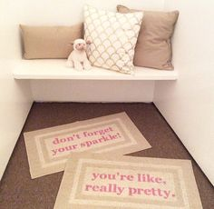 The Original You're Like Really Pretty Decorative by BeThereInFive