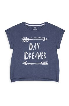 Primark - Camiseta corta azul marino 4e