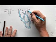 TRIQUETRA KNOT - a video from Patrick Gallagher (originally created by Sandra Strait, molossus)