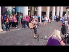 Sam Smith, Money on my Mind cover - Busking on the streets of London, UK - YouTube