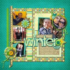 A Day in the Life: digi scrapbooking