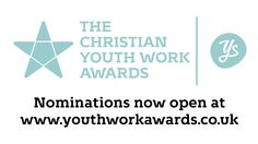 We're excited to announce that nominations for the Christian Youth Work Awards 2016 are now open. Head to youthworkawards.co.uk to submit a nomination
