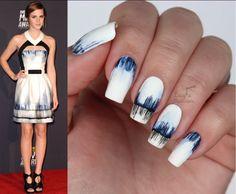 This Emma Watson inspired mani is making serious waves online! #YayorNay #nailinspo #summershades #bloggers