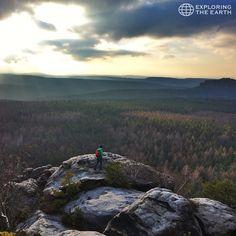 Exploration & Photo by @riedelmax Location / Mountain Gohrisch, Saxony, Germany